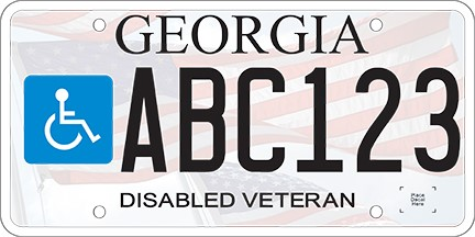 Georgia Ad Valorem Tax Calculator >> Disabled Veteran License Plates Columbia County Tax